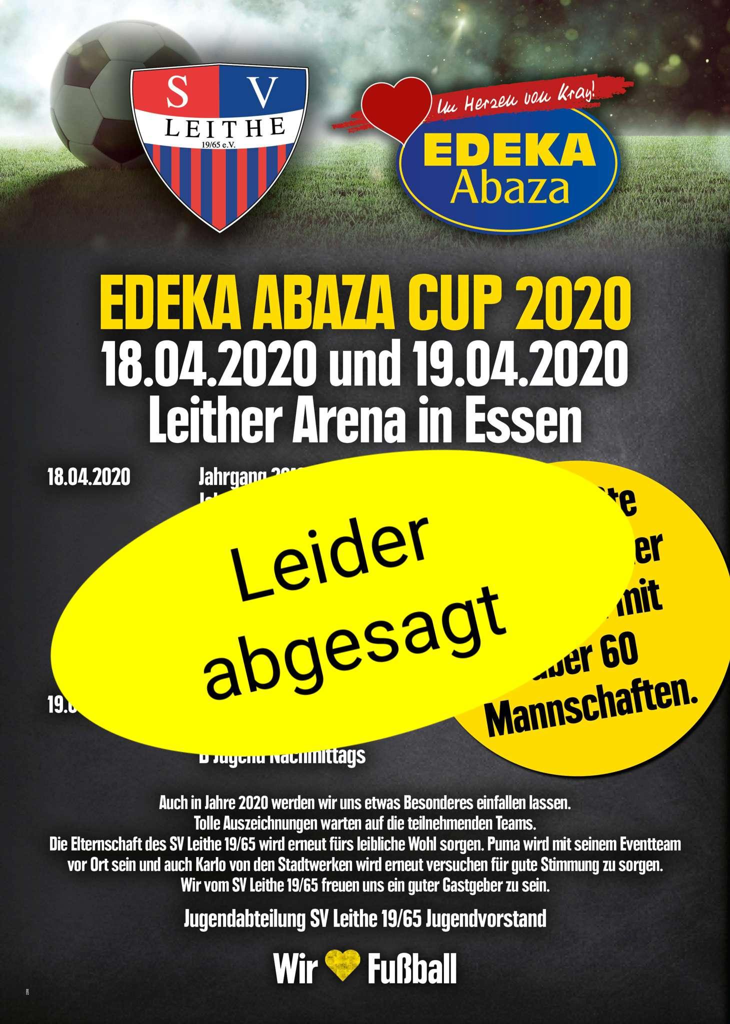 Großes EDEKA Abaza Fußballturnier