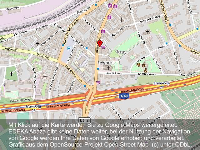 Ihr EDEKA-Markt auf der Krayer Straße 238