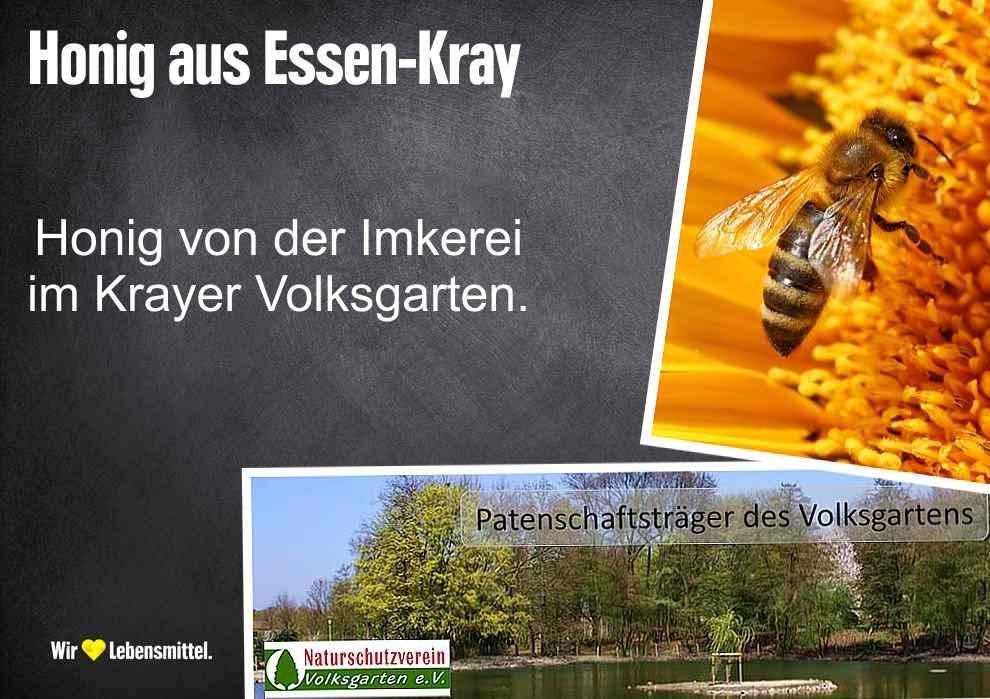 Honig aus dem Krayer Volksgarten