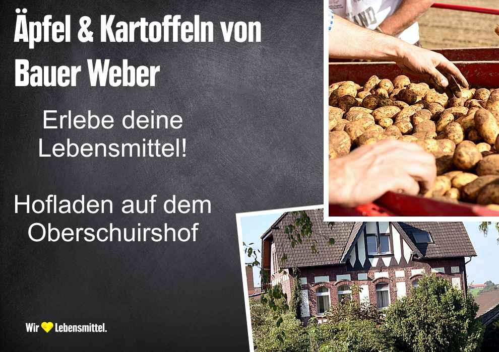 Äpfel & Kartoffeln von Bauer Weber